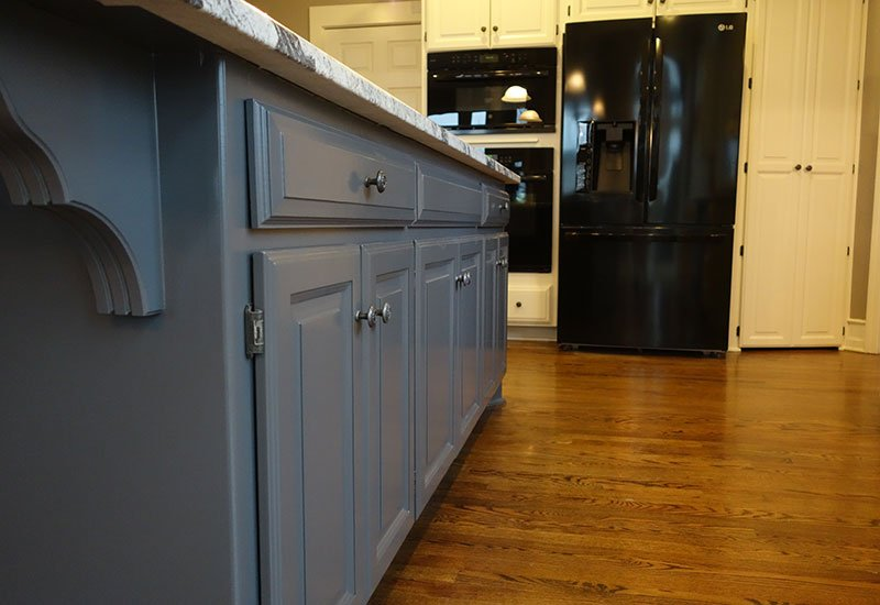 Ideas For Matching Blue Kitchen Cabinets Elite Painting Kc