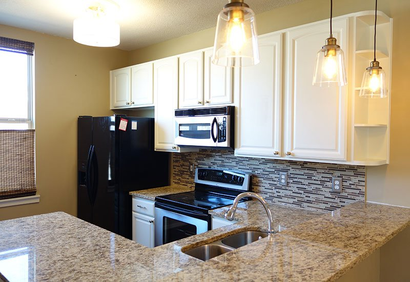 Factory Finish Kitchen Cabinet Painting in Kansas City ...